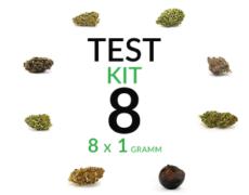 CBD Blüten Cannabis Marihuana 8 g/8 Sorten