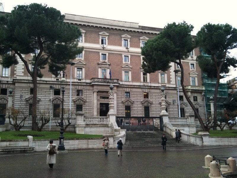der Viminale Palast in Italien