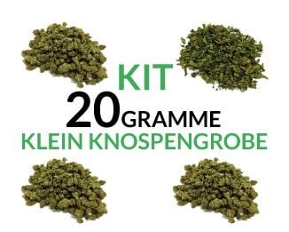 Kit 20 Gramme Small Buds justbob.de
