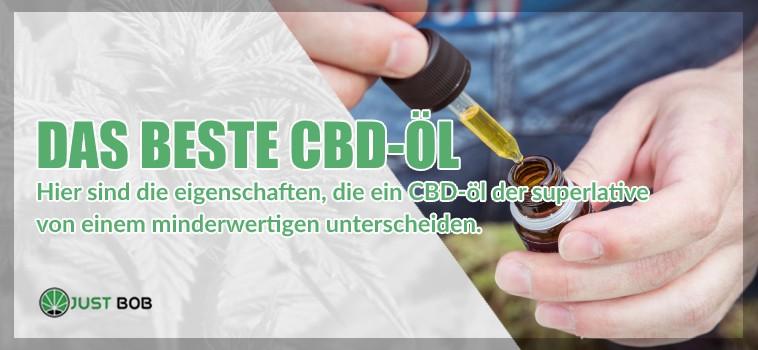 Das beste legales marihuana CBD Öl