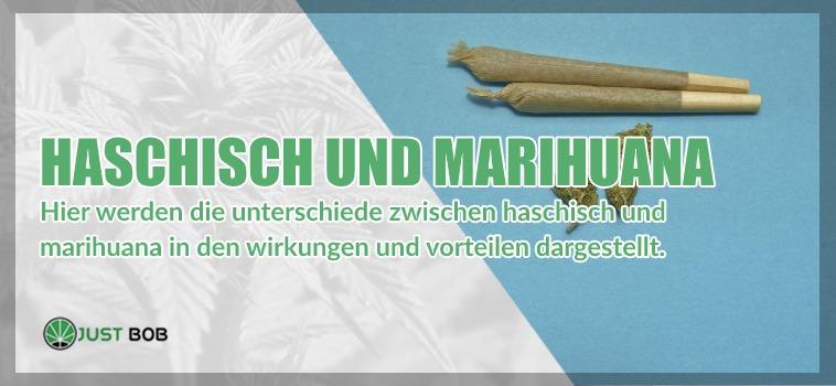 Haschisch und Marihuana
