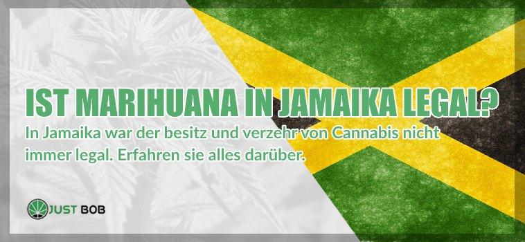 cannabis legalem in jamaika
