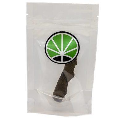 Packaging von Burbuka Haschisch CBD bei 15%