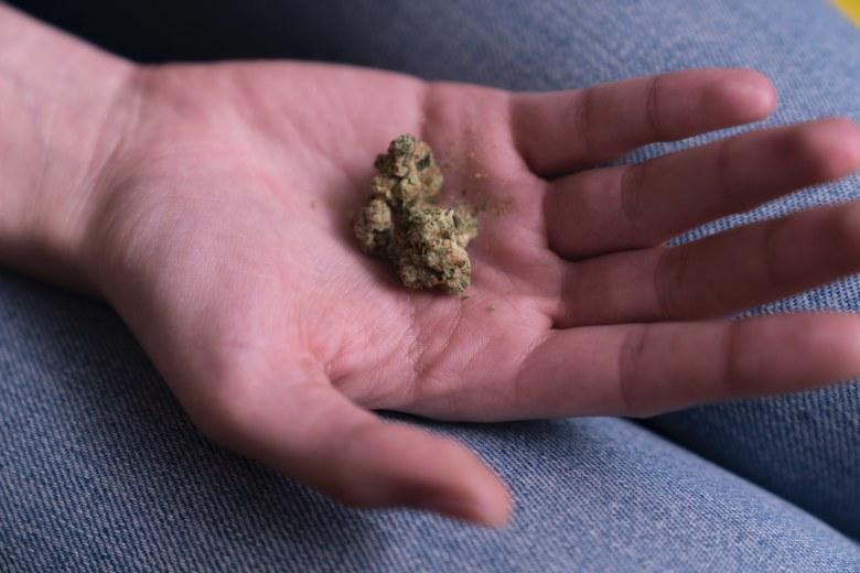 Lagerung von legalem Cannabis