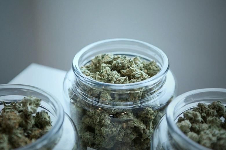 ideale Lagerung von legalem Cannabis