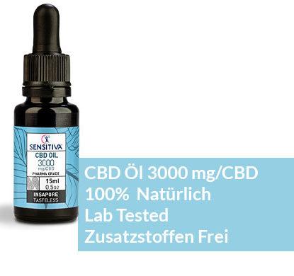 Beschreibung CBD Öl 15 ml 20% - Sensitiva