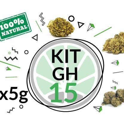 Test Kit GH 3 Cbd Cannbis Sorten für 15 Gramm