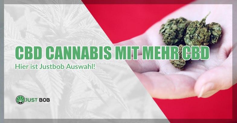 CBD Cannabis mit mehr CBD