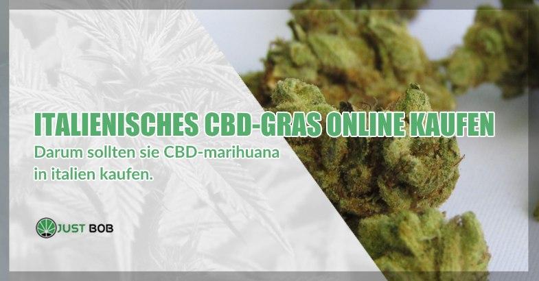 Italienisches CBD Cannabis online kaufen