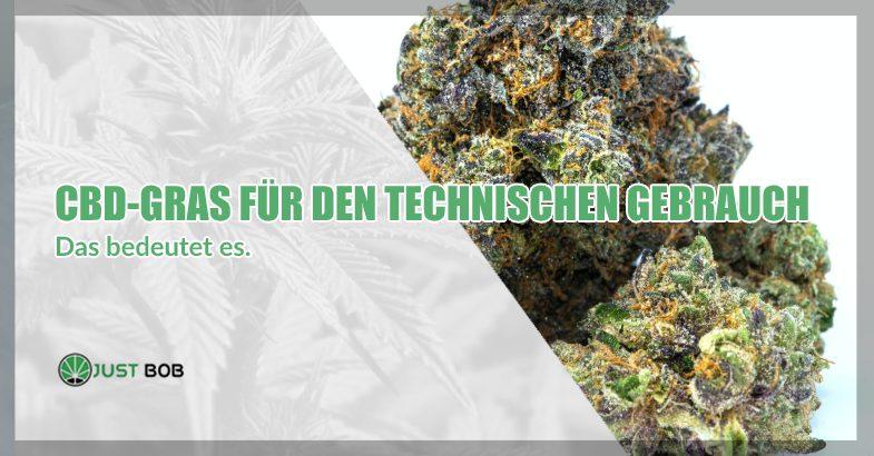 CBD-Cannabis für den technischen Gebrauch