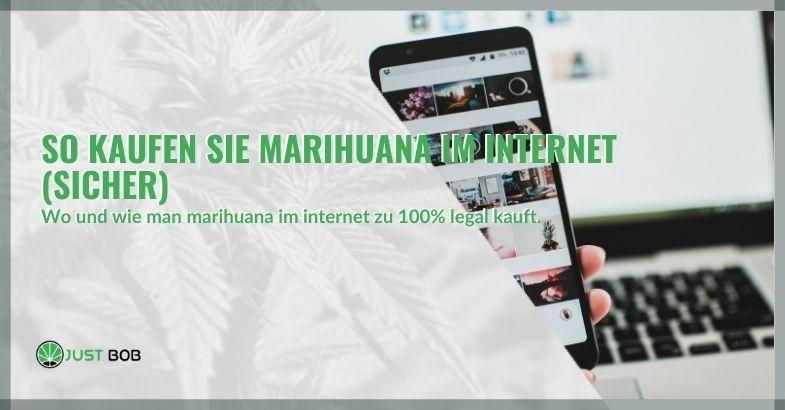 So kaufen Sie Marihuana im Internet (sicher)