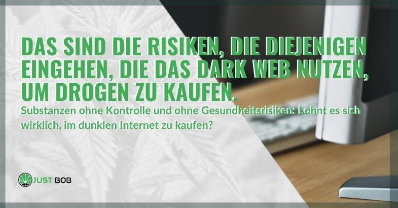 Dies sind die tödlichen Risiken für diejenigen, die Drogen im Internet kaufen