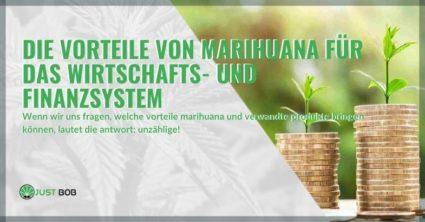 Die wirtschaftlichen und finanziellen Vorteile von Marihuana in Ländern, in denen es legalisiert ist