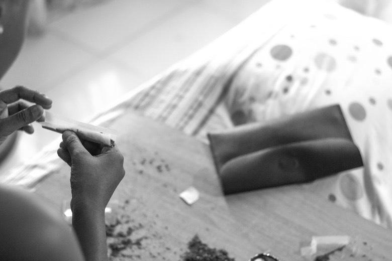 Auswirkung einer längeren Anwendung von THC: Sucht