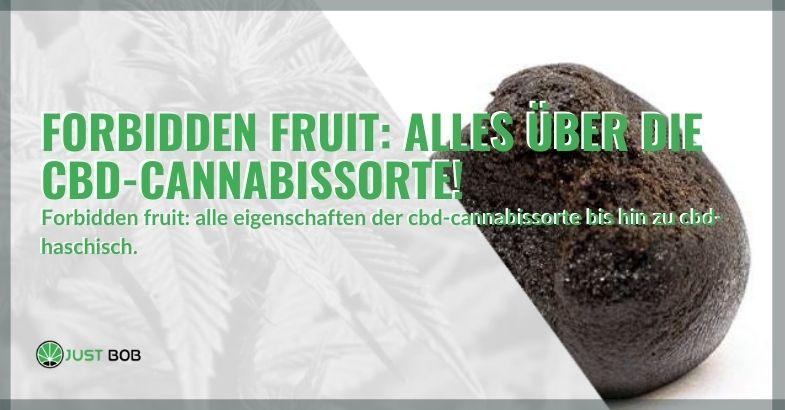 Forbidden Fruit legale Cannabis-Sorte