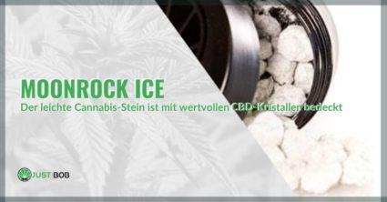 Moonrock Ice: Der mit CBD-Kristallen bedeckte Cannabisfelsen