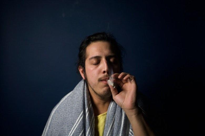 Diejenigen, die mehr als erwartet Cannabis rauchen, haben süchtig machende Symptome