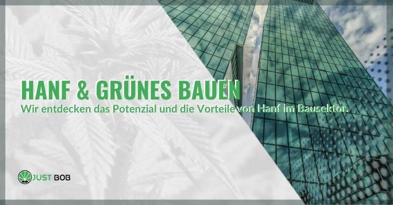 Entdecken wir das volle Potenzial von Hanf im Bereich Green Building